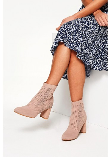 a21110d89898 Toyah Sock Boots in Blush ...