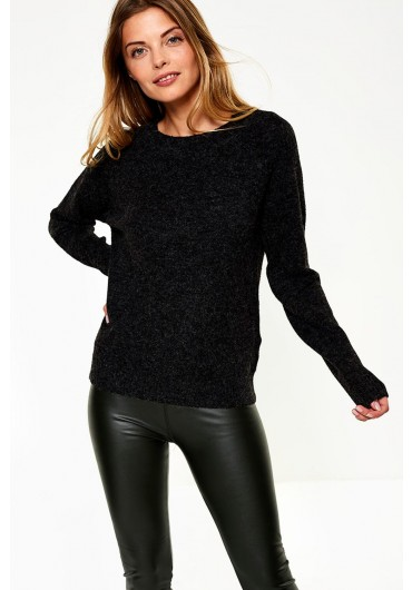 7cc8154514e Doffy Soft Knit in Charcoal Doffy Soft Knit in Charcoal