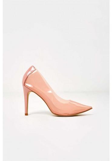 9d0516f70f1b Thea Clear Court Shoe in Blush ...