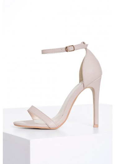 d5ad575a4 Holly Ankle Strap Sandals in Nude Holly Ankle Strap Sandals in Nude. Quick  view