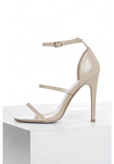 5ca5385d5dd Lupita Strappy Sandals in Nude ...