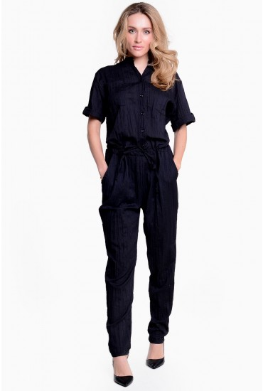 90dac64a935 The utility trend is all over the catwalk at the moment and this crinkle  effect jumpsuit is a great way to wear it and best of all