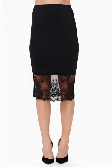 237bbaad43a0a With a flattering cut and lace trim, emphasise the cut and team with a  tucked-in top and opaque tights.