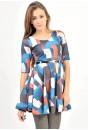 Melanie 3/4 Sleeve Full Skirt Dress