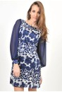 Martina Sequin Dress (Blue)