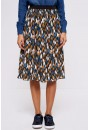 Zura Pleated Midi Skirt