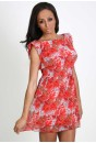 Caprice Ruffle Sleeve Dress