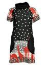 Allie Giraffe Print Knit Tunic Dress