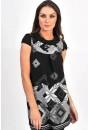 Alexis Aztec Knit Dress