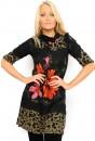 Janet Knit Tunic Dress in Khaki
