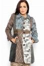 Beatrice Embossed Coat