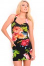 Motel Robyn Bodycon Dress in Oil Painting Print