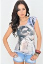 Lucy Graphic Print Tee