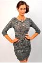 Gerda Two Pocket Jumper Dress (grey)