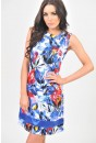 Sonya Floral Tailored Dress
