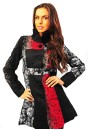 Dawn Embossed Coat (red)