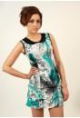 Alicia Print Dress
