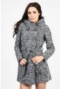 Nita Hooded Wool Overcoat