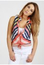 Karina Stripe Chiffon Shirt