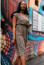 Sonja Leopard Print Culotte Jumpsuit