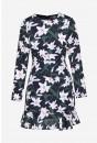 Rebecca Short Tea Dress in Floral Print