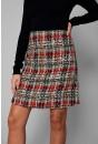 Kylie Short Tweed Skirt