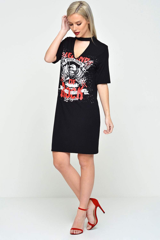 Vintage T Shirt Dress 39