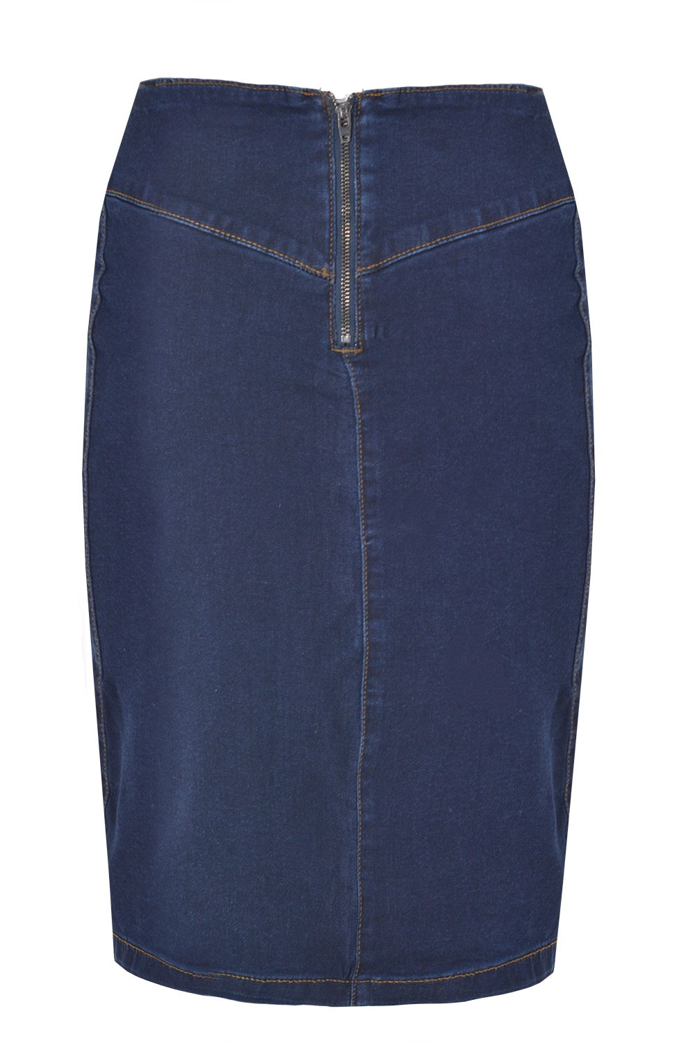 TheMogan Women's Vintage Washed Blue Jean Pencil Midi Soft Denim Skirt. Sold by TheMogan. $ fascinatingnewsvv.ml Blue Asymmetric Button Front Slit Pencil Denim Skirt. Sold by 2 Sellers. $ $ Castaluna Womens Denim Pencil Skirt. Sold by La Redoute. $ $
