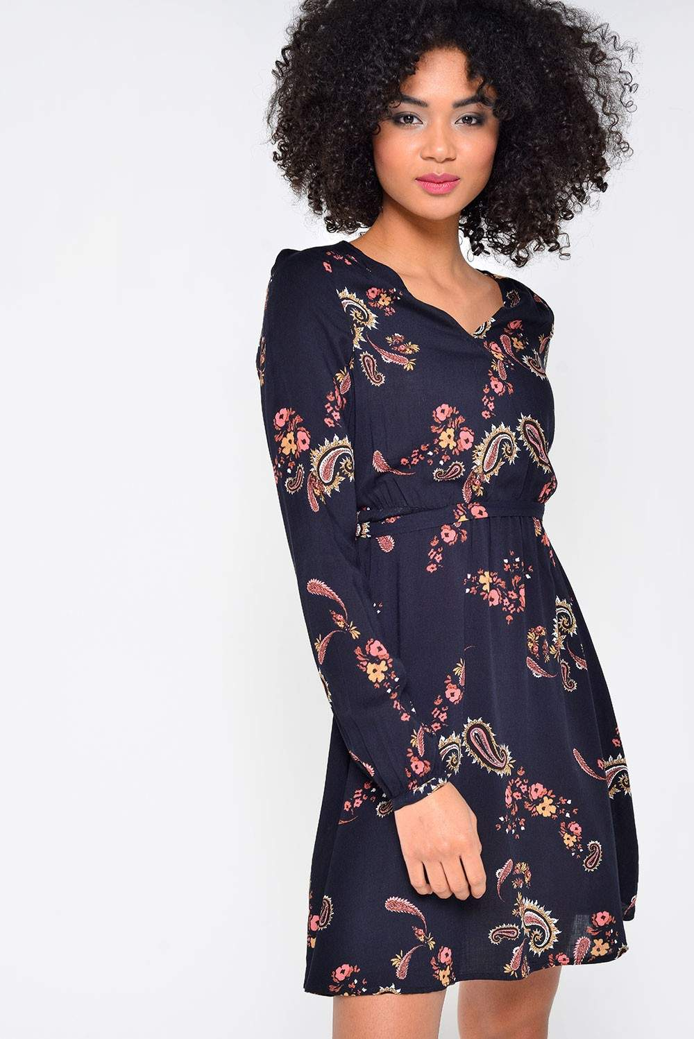 Vero moda simply easy short wrap dress in black iclothing for Simply simple
