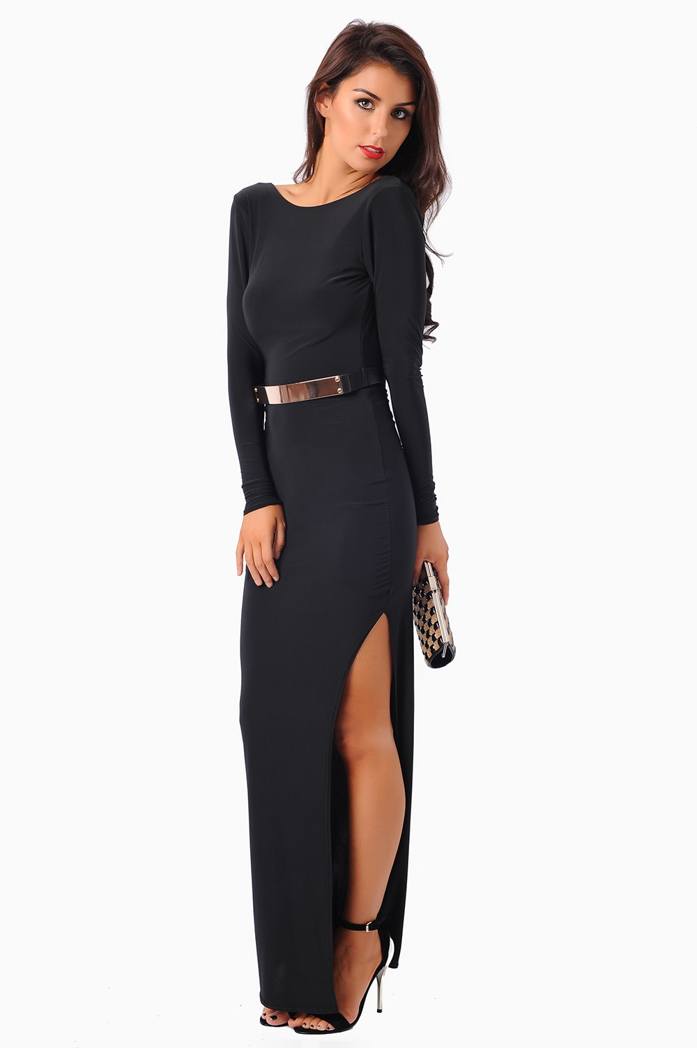 Find black thigh split dress at ShopStyle. Shop the latest collection of black thigh split dress from the most popular stores - all in one place.