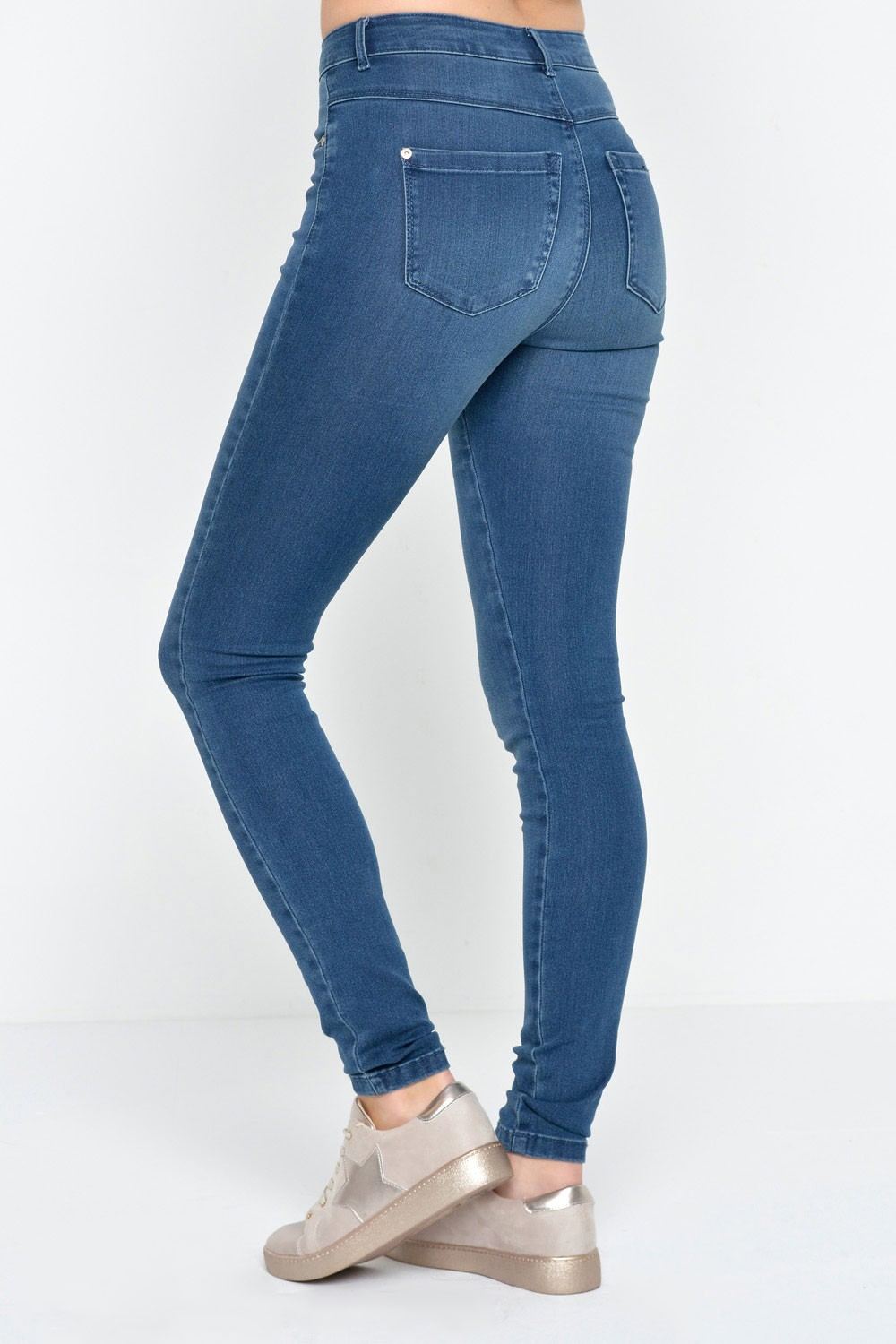Only Royal Short Length High Waisted Skinny Jeans in ...