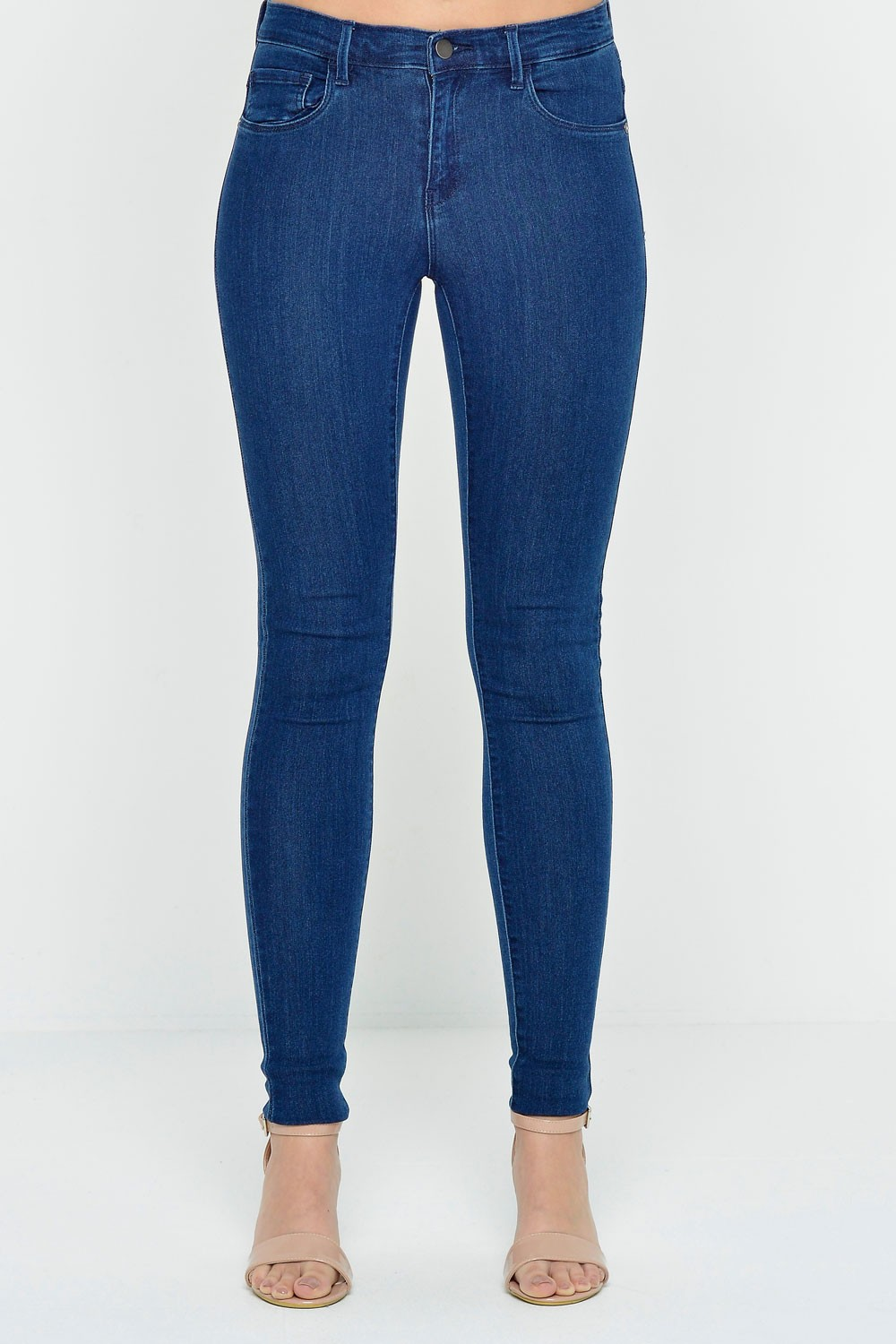Rain Regular Skinny Jeans in Blue