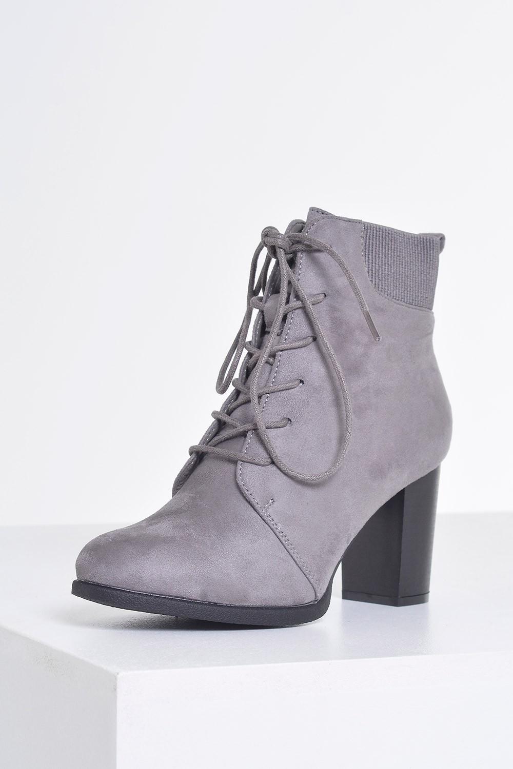 For warmer weather, heeled booties are perfect for all of those outdoor parties, hot dates and nights out dancing with your girls. You and your friends will be serious #SquadGoals when you show up rocking some lace-up suede booties with sky-high stilettos, but you'll look just as cute on more casual nights out when you wear a pair of skinny jeans with some clear lucite booties or booties with.