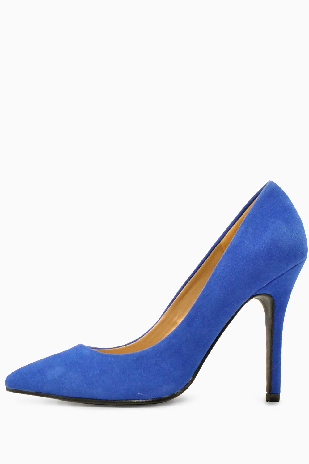 Wedding Royal Blue Shoes debbie pointed court shoes in royal blue