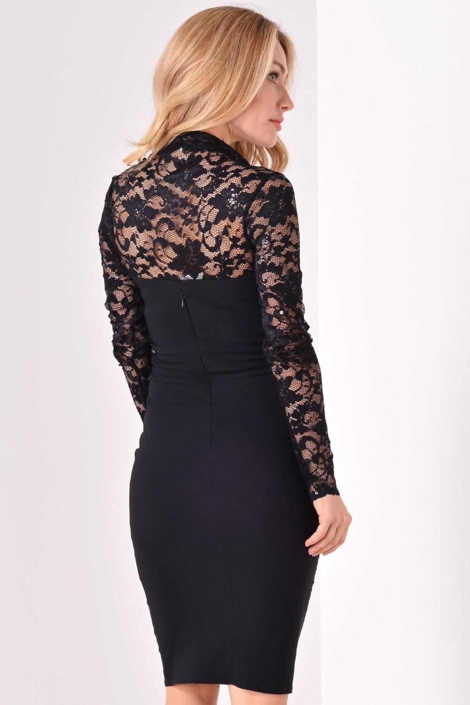 Black dress lace sleeves - Black Dress Lace Sleeves 27