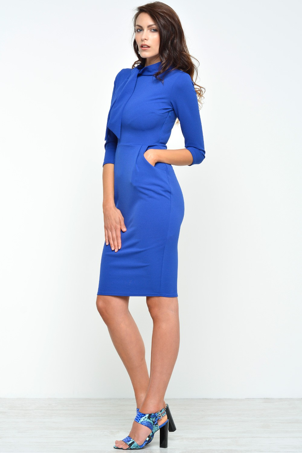 Leith ruched bodycon tank dress