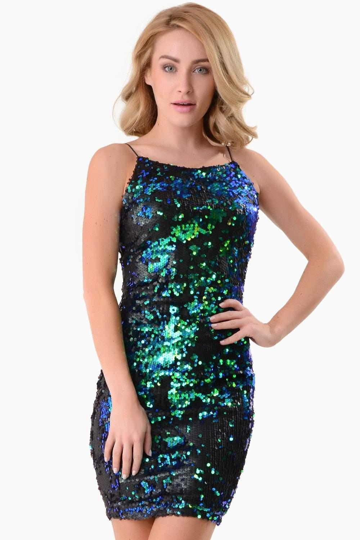 AX Paris Ingrid Sequin Bodycon Dress | iCLOTHING