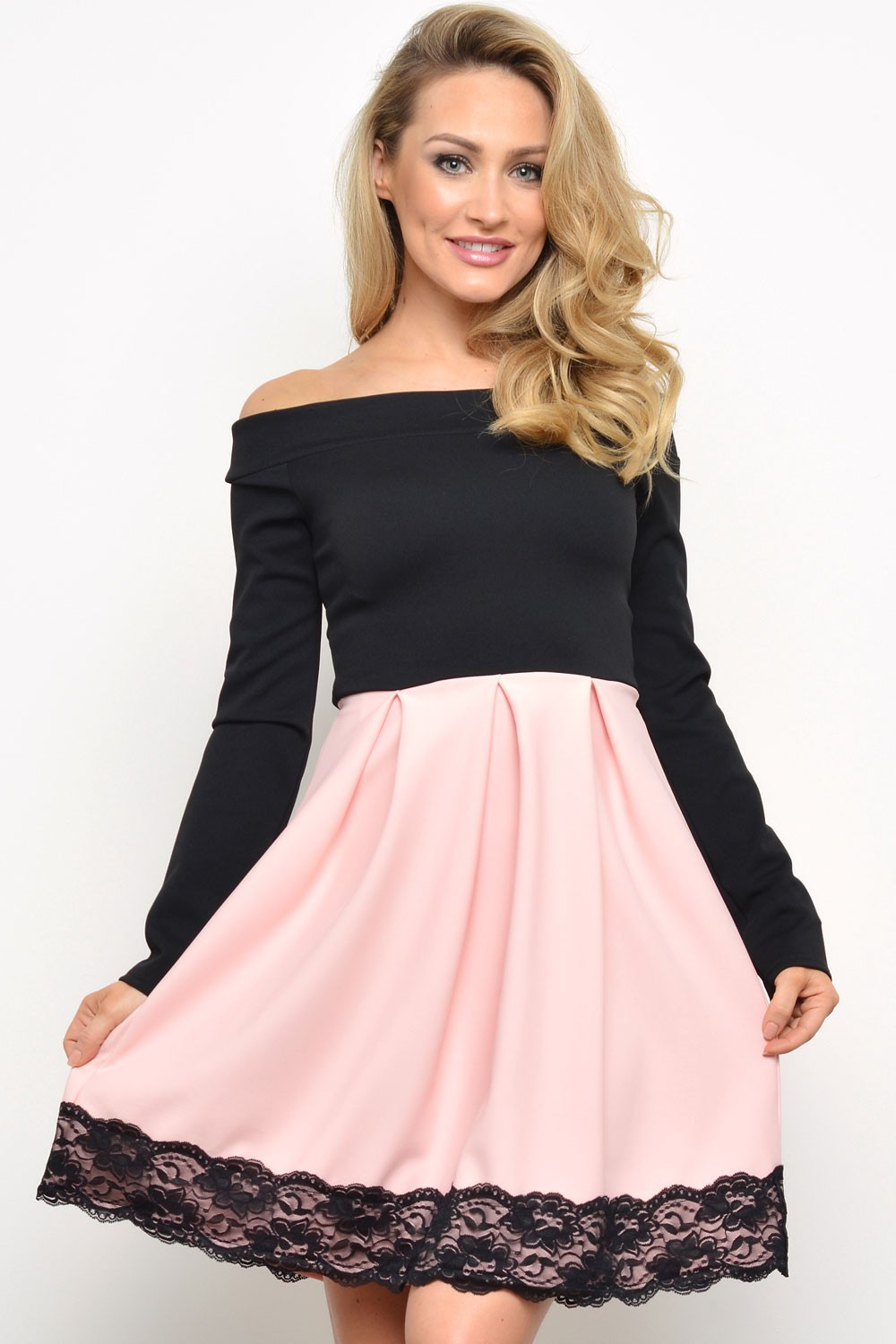 5ba5b6f1358b More Views. Lanna Off The Shoulder Dress in Pink