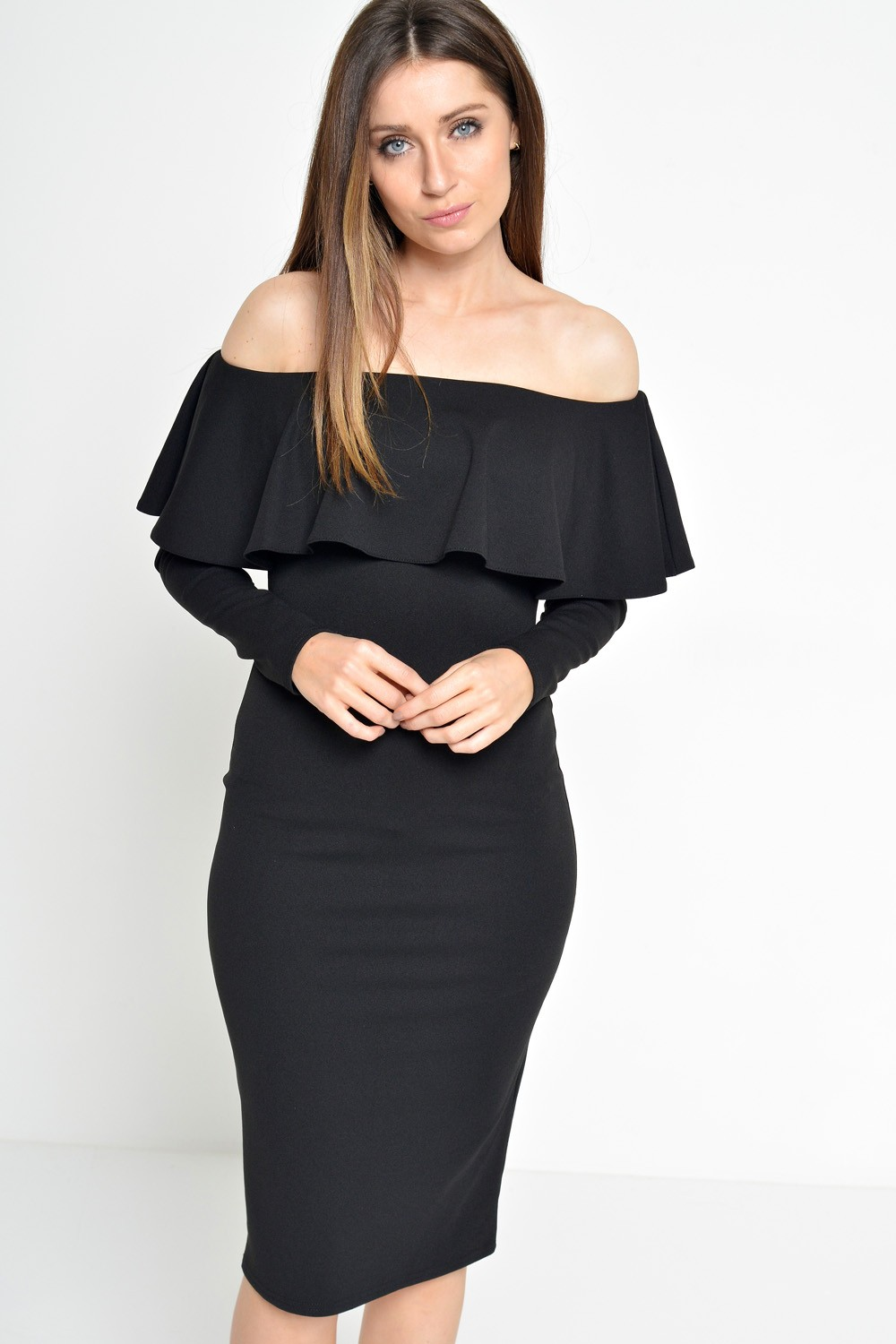 Find great deals on eBay for black off the shoulder dress long sleeve. Shop with confidence.