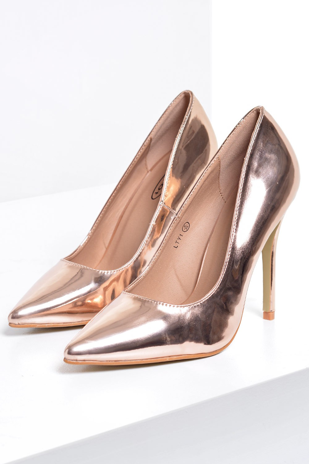 no doubt connie court shoe in rose gold iclothing
