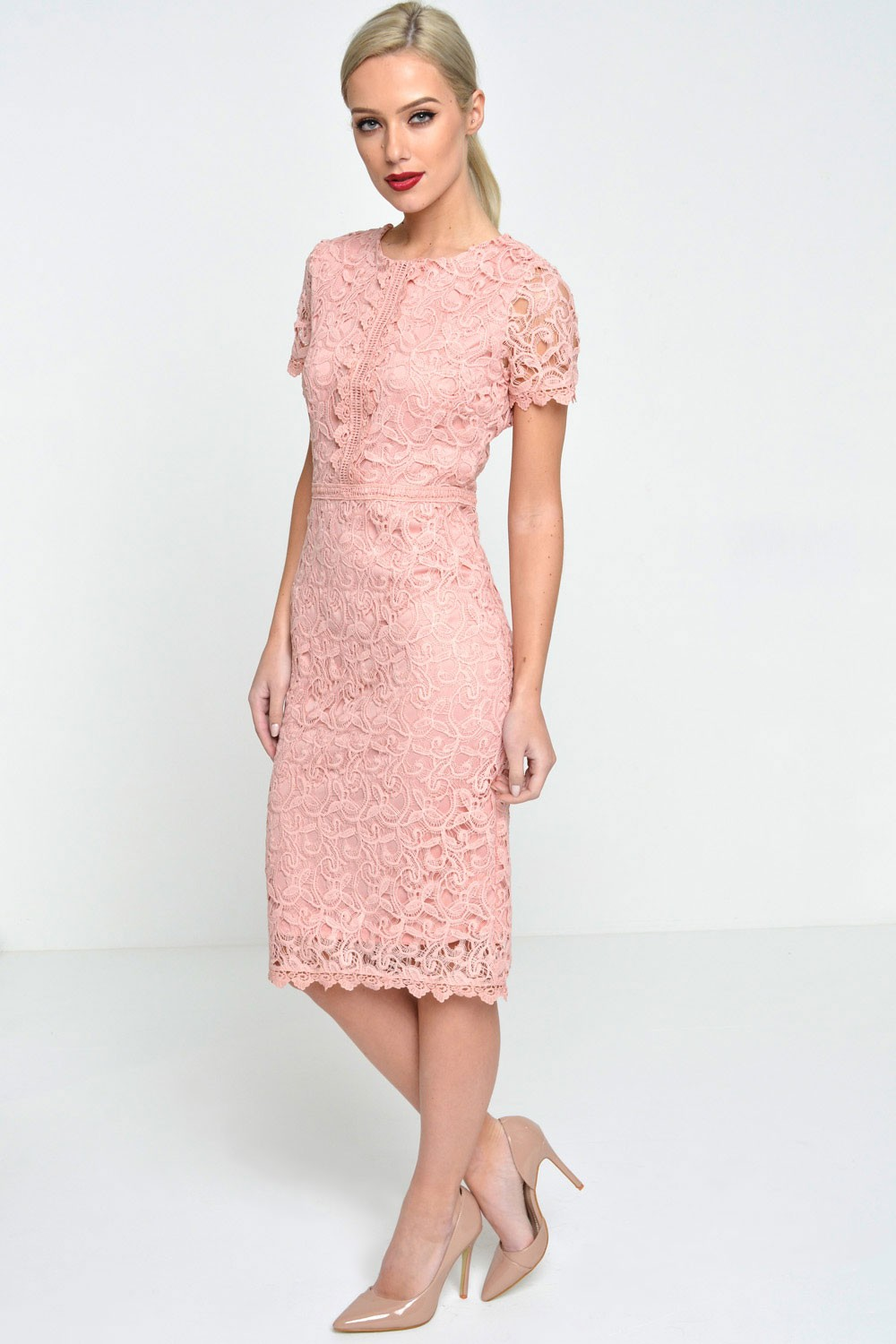 Share Allure Midi Dress in Dusty Pink on Pinterest (opens in a new window) Share Allure Midi Dress in Dusty Pink on Google (opens in a new window) Allure Midi Dress Nookie Nookie $ Or 4 installments of $ by afterpay.