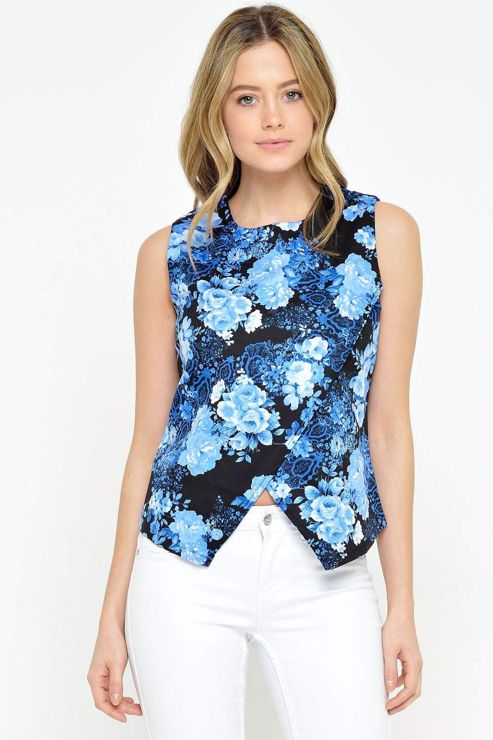Find great deals on eBay for blue floral top. Shop with confidence.