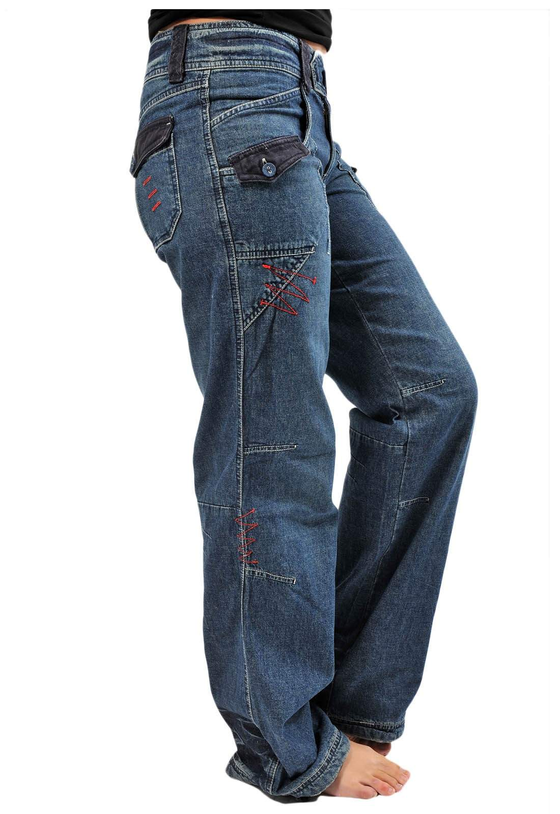 100 Cotton Jeans Womens
