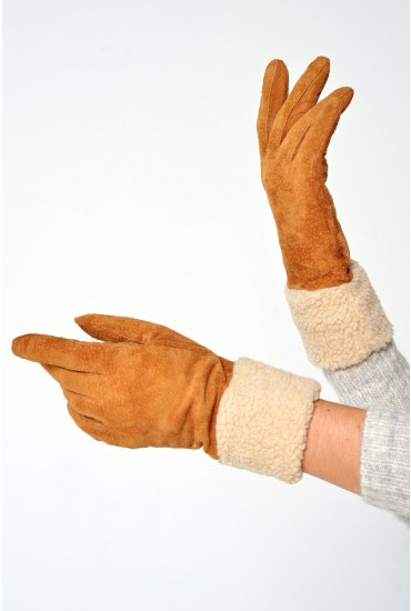 Anie Real Suede Gloves