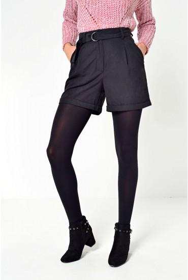 Tensa HW Shorts in Black
