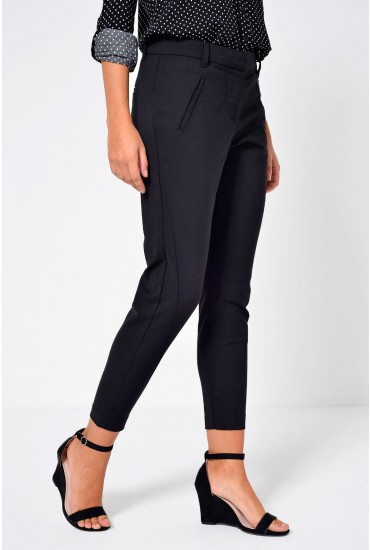 Victoria Long Pant in Black