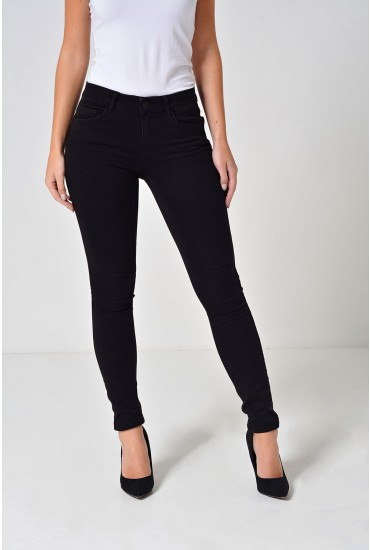 Seven Regular Shape Up Jeans in Black