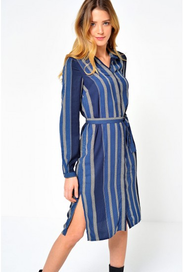 Mai Long Shirt Dress