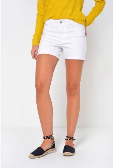 Seven Fold Shorts in White