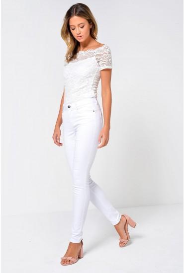 Seven Regular Shape Up Jeans in White